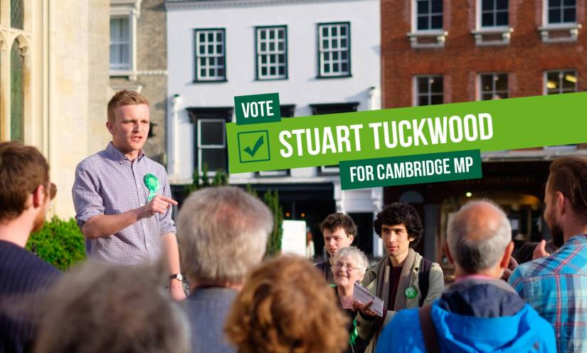 Cambridge Green Party Select New Parliamentary Candidate